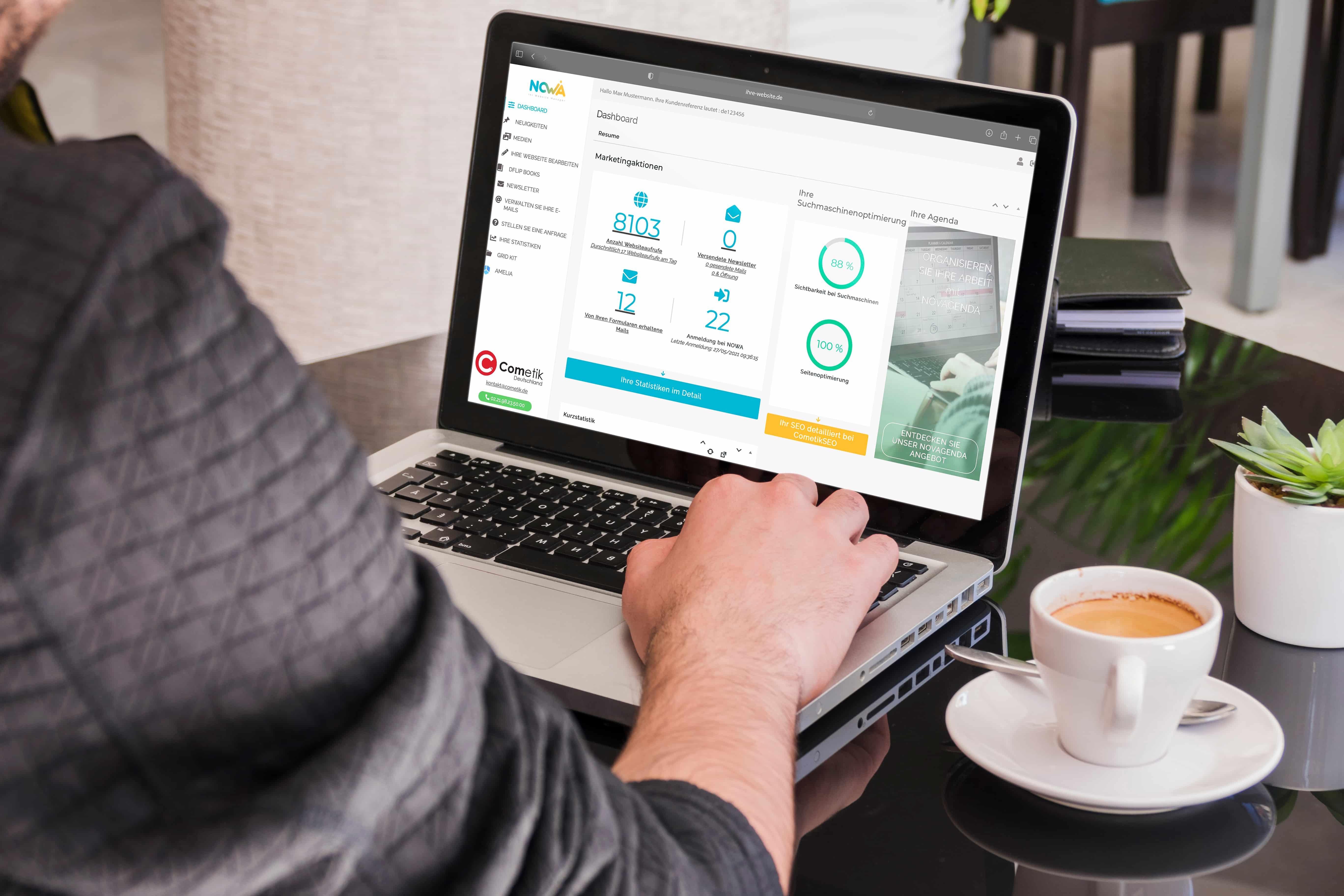 Webseite erstellen Köln