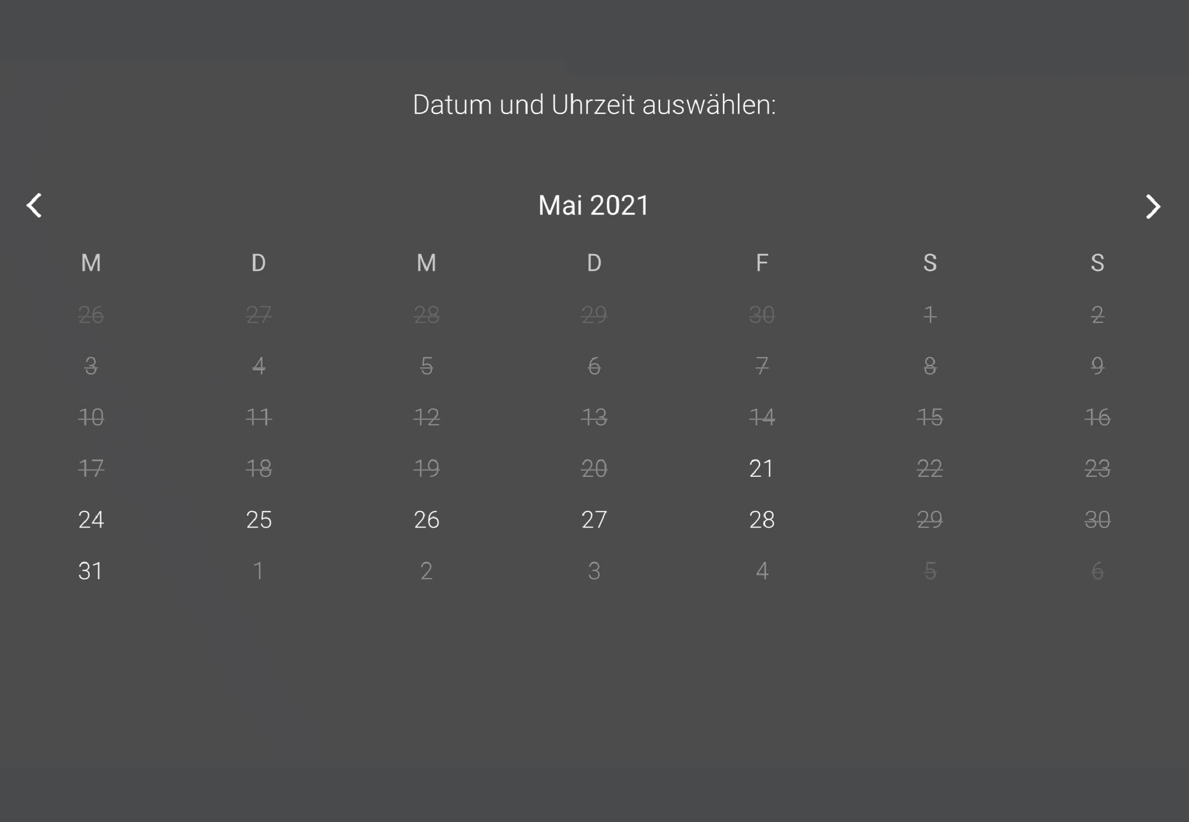 Kalender Tool